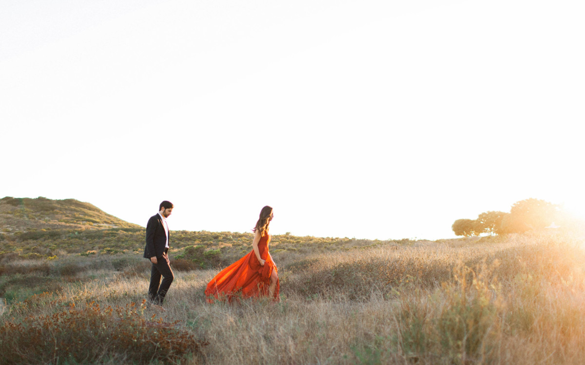 Rod and Katie's Malibu Engagement Session