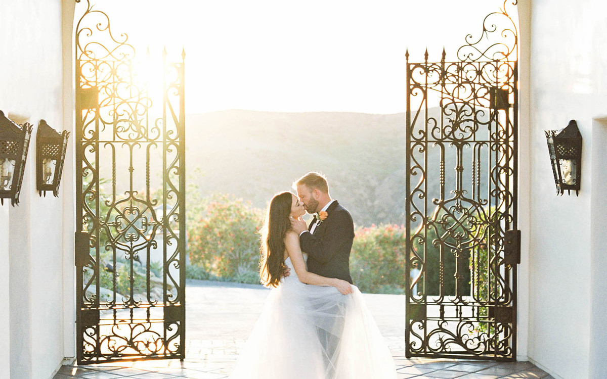 Matt and Danielle's Classic Hummingbird Nest Ranch Wedding