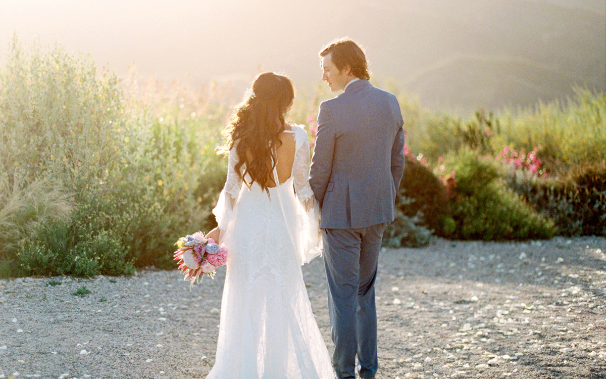 Randy and Joy's Magical Ojai Wedding